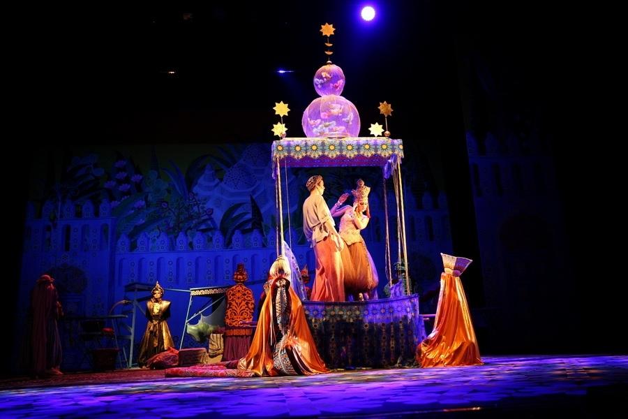«Волшебная лампа Аладдина»