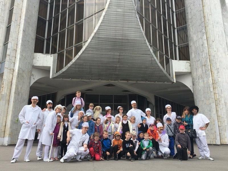 Большой театр кукол на гастролях в Великом Новгороде. Фото из архива театра