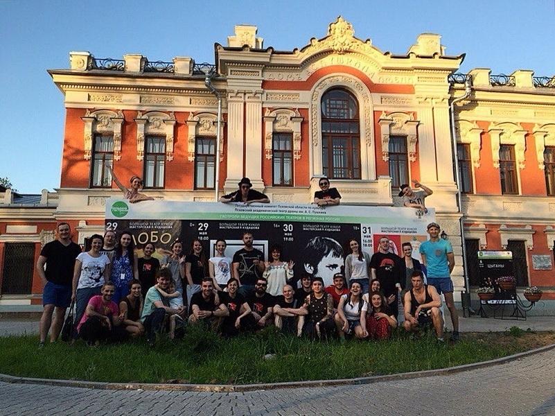 Большой театр кукол на гастролях в Пскове. Фото Андрея Кокшарова