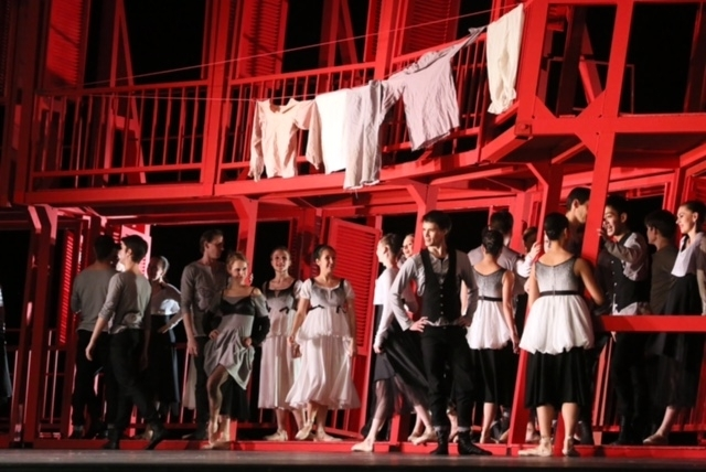 «Ромео и Джульетта». Фото Елены Леховой